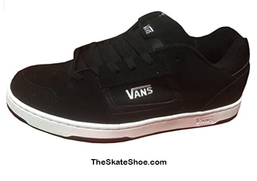 Vans Men's Docket Skate Suede Leather Logo Shoes