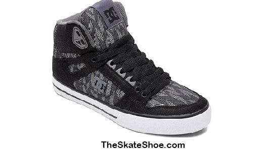 DC Men's Pure High Top Skate Shoe