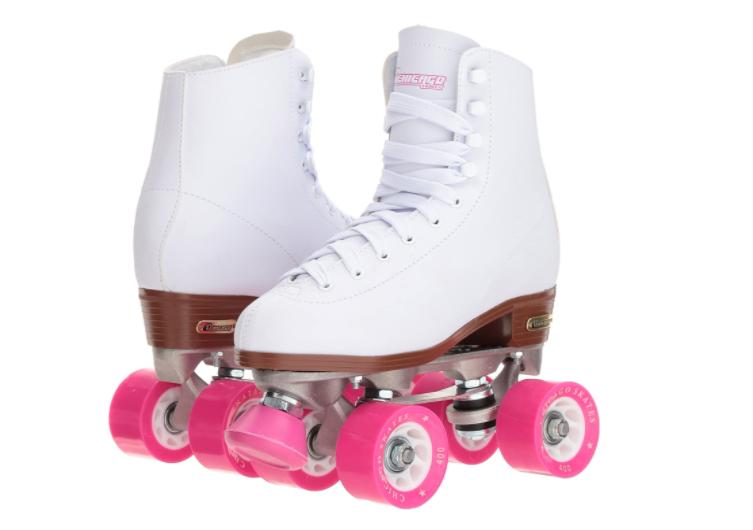 Chicago Women's - (Premium White Quad Rink Skates)