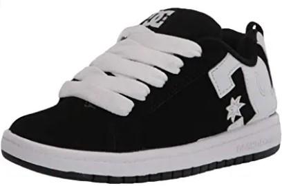 DC Kid's Court Graffik Skate Shoe