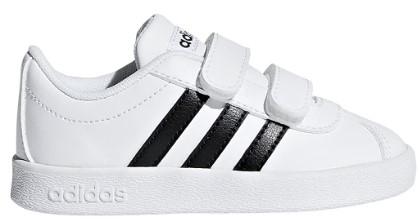 adidas Unisex-Child Vl Court 2.0 CMF Skate Shoe