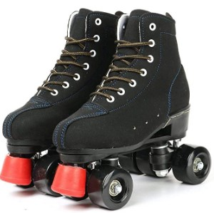 Roller Skates for Women and Mens, Classic High-top 4 Wheels Skating Roller