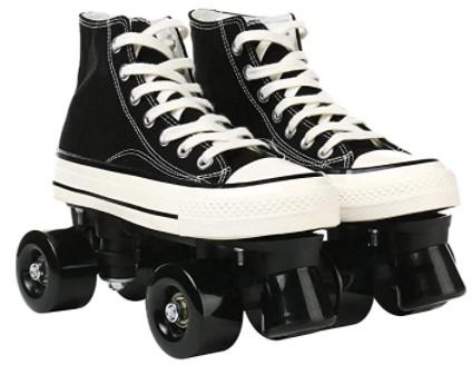 MEIMESH Canvas - Indoor and Outdoor Roller Skates
