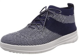 FitFlop Men's Uberknitslip-on High Top Sneaker